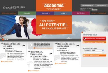 acadomia.fr acadomia
