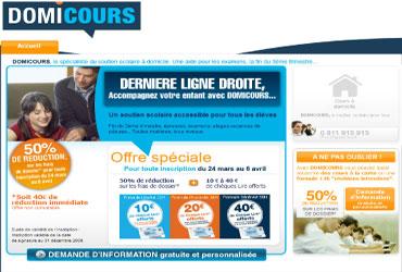 domi-cours.fr, domicours