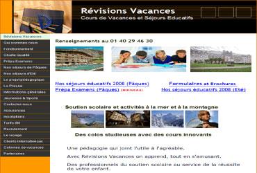revisions-vacances.com, vacances revisions